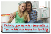 Moving with Asmar Removals is easy