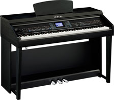 picture of Yamaha digital piano
